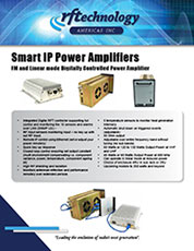 Smart IP Power Amplifier